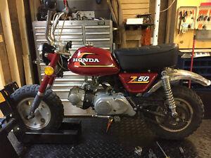 Classic Honda Z50