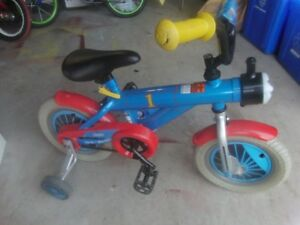 Thomas The Train Kids Toddler Bike with Training Wheels only 30