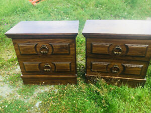 Dresser and night stands !
