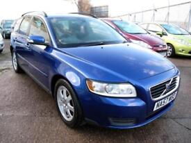 2007 57 Volvo V50 2.0D S Estate Diesel 6 Speed Manual, 8 Stamps 1FK Met Blue