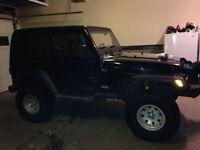 2003 Jeep TJ Black Other