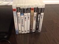 PS3 games for sale(and wwe all stars)