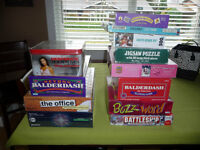 Board Games, DVD Board Game, and Puzzles