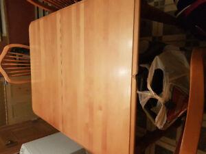 Table cuisine en bois