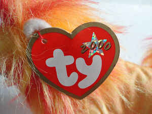 Set of 2 TY Bushy the Lion plush toy collectible Beanie baby NEW London Ontario image 2
