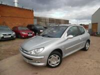 PEUGEOT 206 LX 1.4 PETROL LOW MILEAGE SPARES AND REPAIRS