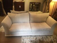Neutral 2 Piece Suite - 2 + 3 Seater Sofas - 1 Year Old Exc Cond - CAN DELIVER