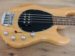 Ernie Ball Music Man Sterling H 4-String Bass in Natural Finish