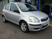 2005 Toyota Yaris 1.3 VVT-i T3 5 Door Lady Owned Full History 92k Mot Jan 18