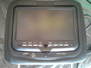 Universal Headrest Entertainment monitor with DVD, Games, USB