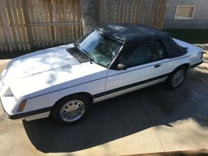 1984 Mustang LX Convertible - sale or trades