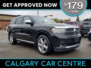 2013 Durango $179B/W TEXT US FOR EASY FINANCING! 587-582-2859