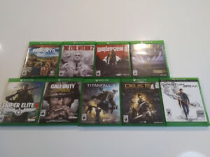 XBOX ONE games for sale- Various titles and prices