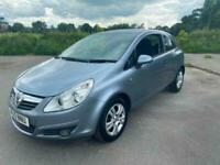 2010 10 Silver Vauxhall Corsa 1.2 Energy 3 Dr Hatch CHEAP Car to Own And Run!