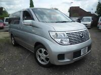 NISSAN ELGRAND, 2005, 2.5 AUTOMATIC, 8 SEATER MPV IN SILVER