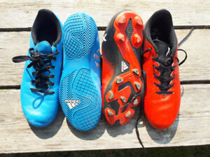 Soccer cleats- various sizes
