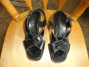 Sandals - High Heels - Size 7 - Very Good Condition