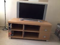 TV Cabinet with 2 Draws and Four Shelves