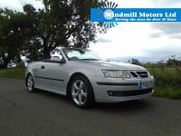 SAAB 9-3 1.8 T VECTOR 2DR AUTOMATIC CONVERTIBLE - LOW LOW MILEAGE! MUST SEE