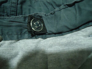 Boys size 6X grey sizeable cotton lined cargo pants Kingston Kingston Area image 4