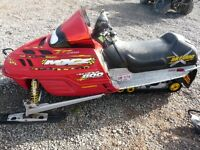 PARTING OUT 2001 MXZ 800