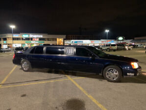 2001 Cadillac Deville Limo, Limousine Uber car Lincoln low km