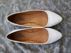 Club Couture Pointed Flats (Size 7)