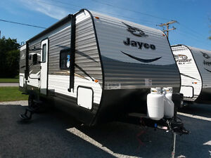 NEW 2017 JAYCO JAY FLIGHT 24RBS TRAVEL TRAILER RV, 1 SLIDE