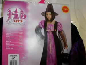 Girls Sparkle Witch costume