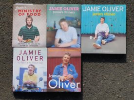 JAMIE OLIVER COOKBOOKS AND OTHER WELLBEING BOOKS EXCELLENT CONDITION