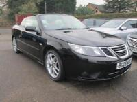 2008 Saab 9-3 !.9 Tdi Vector Convertible, Black