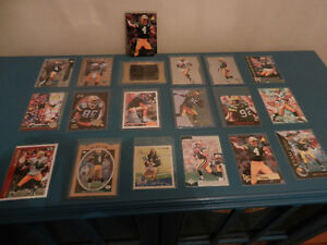 NFL Football Cards Green Bay Packers Favre RC,White Lot of 19