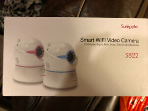 Sumpple wifi baby monitor brand new in box!