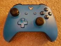 Blue Custom Wireless Xbox One Controller