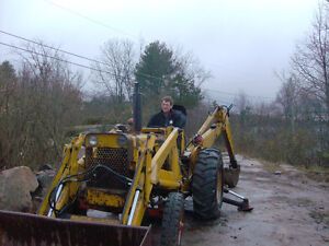 Case 530 Backhoe CK