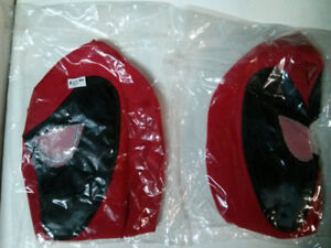 Deadpool cosplay mask One size fits most $10 each