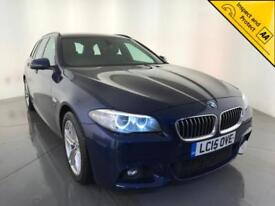 2015 BMW 520D M SPORT AUTOMATIC DIESEL SALOON 1 OWNER SERVICE HISTORY