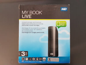 3TB Western Digital External Harddrive