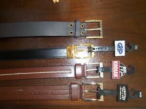 Men's Belts - NEW - Size 34