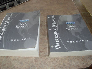 2009 Ranger Workshop Manuals Two Volumes