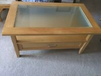 Coffee glass table for sale