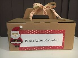 Personalised Christmas Advent Calendar for Children