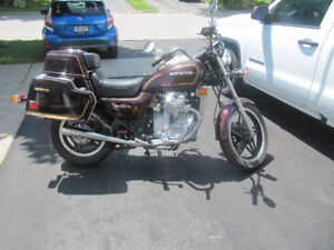 1981 Honda GL500 Silverwing Naked and Interstate