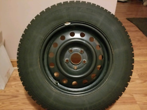 Nordic Winter Tires P225/70R16 with steel rims set of 4.