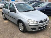 2004/53 Vauxhall/Opel Corsa 1.2i 16v Life LONG MOT EXCELLENT RUNNER