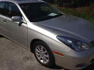2003 ES300 65,000KM! /very clean/ with safety and Emissions/asis