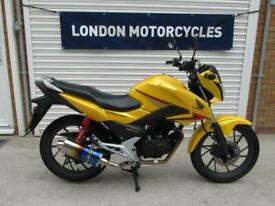 Honda CB125 F 2016 9K miles FSH Ultra Reliable learner