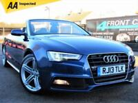 2013 AUDI A5 2.0 TDI S LINE SPECIAL EDITION CABRIOLET AUTOMATIC CONVERTIBLE DIES