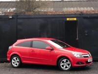 * * 2006 VAUXHALL ASTRA 1.6L SXI + 3 DOOR COUPE + FULL BLACK LEATHERS * *
