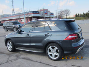 2015 Mercedes-Benz ML350 Diesel 48K Sports/Premium Privat 53,990